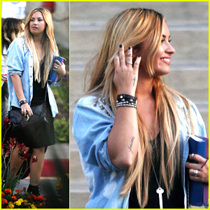 Demi Lovato: Memorial Weekend Party Person