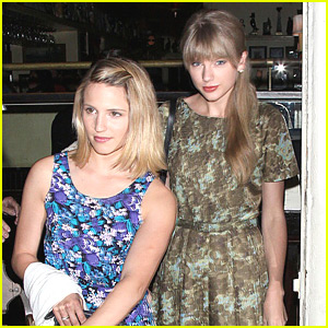 Taylor Swift & Dianna Agron: Dominic's Duo