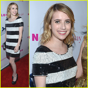 Emma Roberts: Nylon Party Pretty