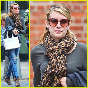 Emma Roberts Stops By Rebecca Taylor