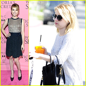 Emma Roberts: 'What Is Sexy' Party Person