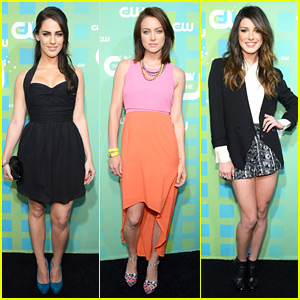 Shenae Grimes, Jessica Lowndes & Jessica Stroup: CW Upfronts!