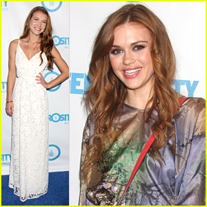 Nathalia Ramos &#038; Holland Roden: Night of Generosity Gala 2012