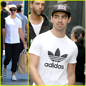 Joe Jonas: Cole Haan Shoe Shopper