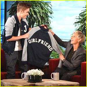 Justin Bieber Graduates & Announces Tour on Ellen!