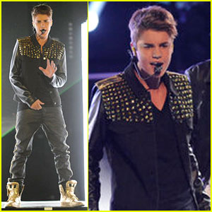 Justin Bieber: 'Boyfriend' Performance on 'The Voice'!