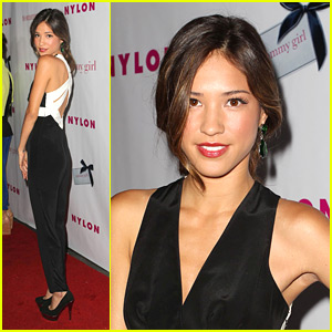 Kelsey Chow: Nylon Young Hollywood Issue Party!