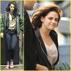 Kristen Stewart Stops By 'Jimmy Kimmel Live'