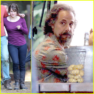 Leven Rambin & Stanley Tucci Reunite for 'Percy Jackson'