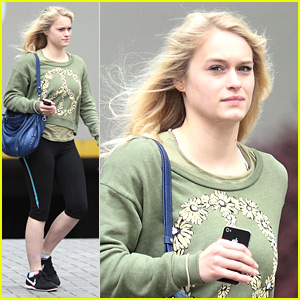Leven Rambin Dishes On 'Hunger Games' Fitness Routine