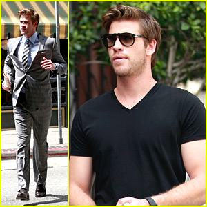 Liam Hemsworth: Photo Shoot in Los Angeles
