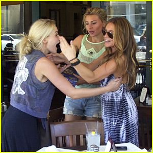 Aly & AJ Michalka: Lunch with Alexa Vega!