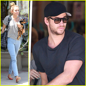 Miley Cyrus & Liam Hemsworth: 'Happy' Friday!