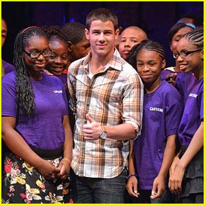 Nick Jonas: Shubert Foundation/MTI Broadway JR. Event