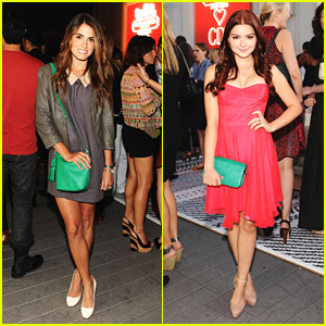 Nikki Reed & Ariel Winter: CDF & Coach Benefit Beauties