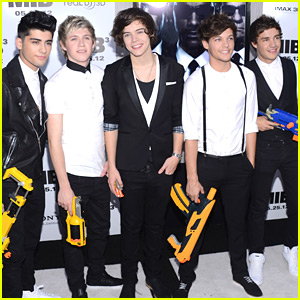 One Direction: 'Men in Black III' Premiere!