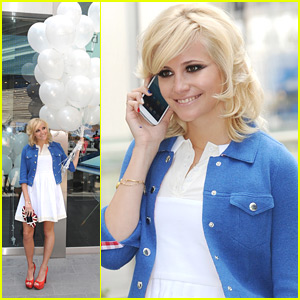 Pixie Lott: Samsung Launch in London!