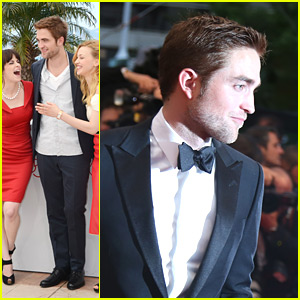 Robert Pattinson Premieres 'Cosmopolis'