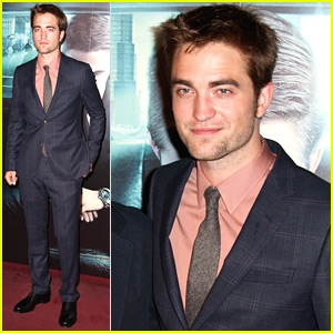 Robert Pattinson: 'Cosmopolis' Premiere in Paris