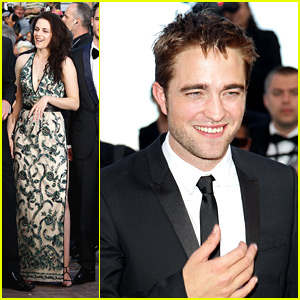 Kristen Stewart: 'On The Road' Premiere at Cannes with Robert Pattinson!
