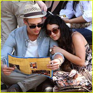 Vanessa Hudgens: Renaissance Pleasure Faire with Austin Butler