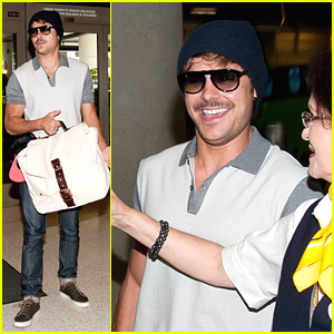 Zac Efron: Mustache Man!