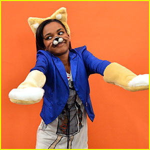 China Anne McClain Has the 'ANTswers'
