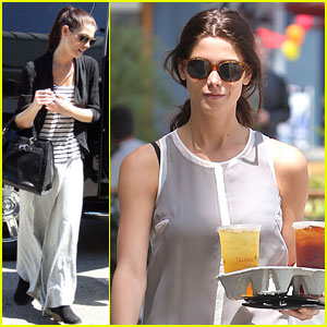 Ashley Greene: LAX with Marlow