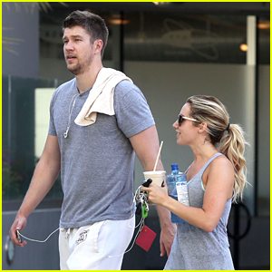 Ashley Tisdale & Scott Speer: Sunday Workout