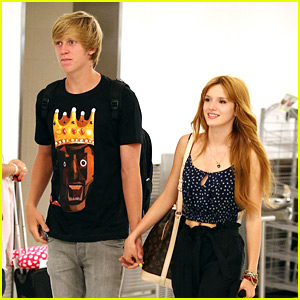 Bella Thorne Makes It To Miami