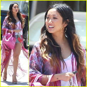 Brenda Song: Pretty in Pink!