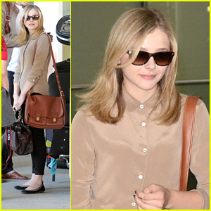 Chloe Moretz: Toronto Airport Arrival