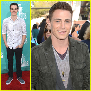 Colton Haynes &#038; Dylan O'Brien - MTV Movie Awards 2012