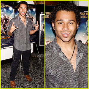 Corbin Bleu: 'Rock of Ages' Screening