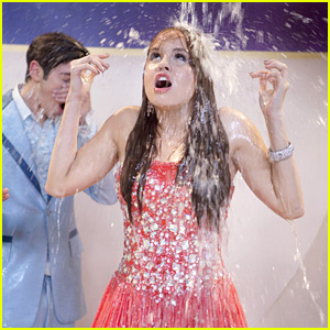 Debby Ryan: Drenched For 'Jessie'!
