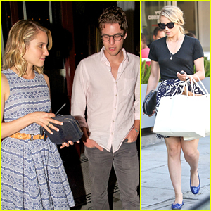 Dianna Agron: Date Night with Henry Joost