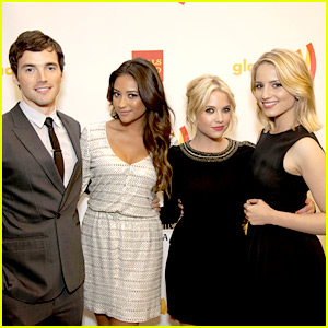 Dianna Agron & Shay Mitchell: GLAAD Awards San Francisco!