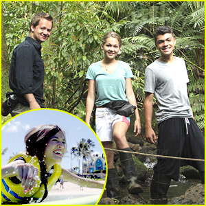 Kelsey Chow, Adam Irigoyen & Kelli Berglund: Disney's Healthy Living in Hawaii!