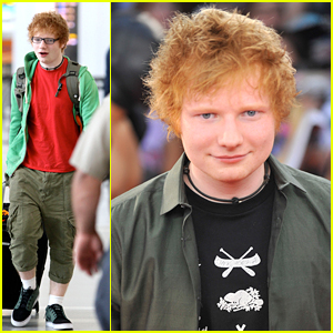 Ed Sheeran: Maple Leaf Tattoo!