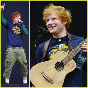 Ed Sheeran: BBC Radio 1 Performer!