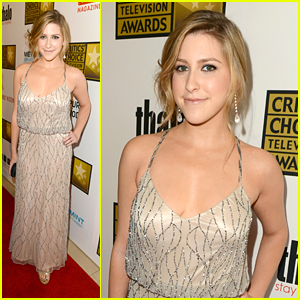 Eden Sher: Critics' Choice Television Awards 2012