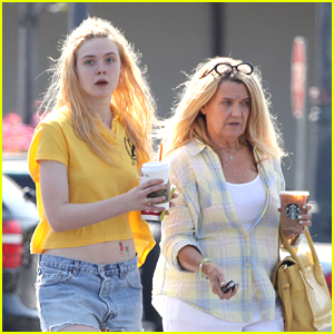 Elle Fanning: Shopping With Grandma!