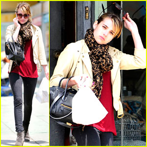 Emma Roberts to Charlize Theron: 'Could You Be More Chic?'