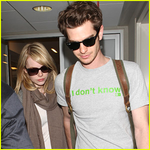 Emma Stone & Andrew Garfield: LAX Lovers