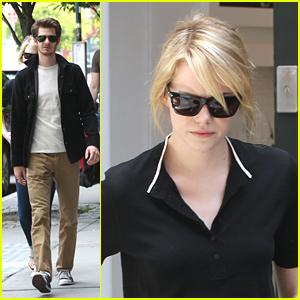 Emma Stone & Andrew Garfield: NYC Stroll