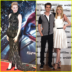 Emma Stone & Andrew Garfield: 'Spider-Man' in Italy!