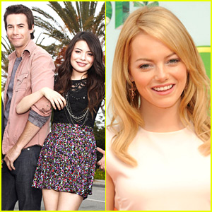 Emma Stone: iCarly Guest Star!