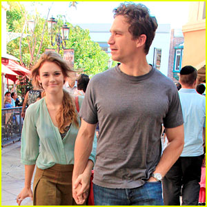 Holland Roden: Movie Date at The Grove