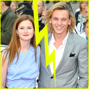 Bonnie Wright & Jamie Campbell Bower Split | Bonnie Wright ...