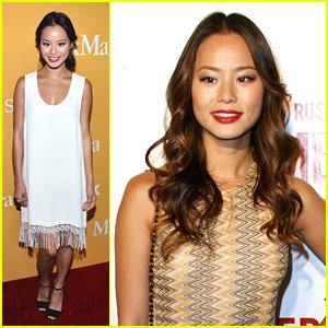 Jamie Chung: Crystal & Lucy Awards 2012